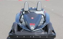 【オートモーティブワールド16】東京R&D、鈴鹿の新アトラクション用EVカートなど展示 画像