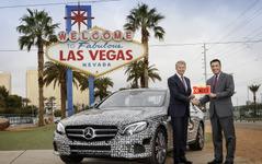 【CES16】メルセデス Eクラス 新型、早くも自動運転車…公道テスト認可を取得 画像