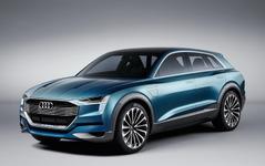 【CES16】アウディの近未来EV、e-トロン・クワトロ…自動運転機能を初公開 画像