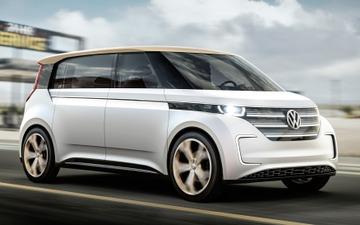 【北京モーターショー16】VWのEVマイクロバス、BUDD-e …中国初公開 画像