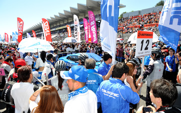 【SUPER GT 第2戦】晴天の富士ラウンド、2日間で8.5万人が来場 画像