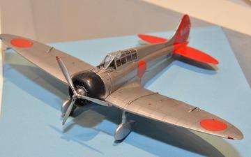 【静岡ホビーショー16】ファインモールド、1/48九六式艦上戦闘機の新製品を会場発表 画像
