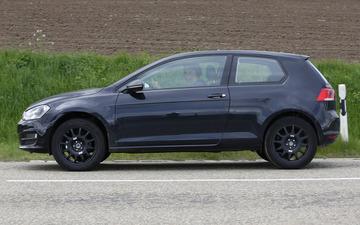 VWの新型クロスオーバーSUV、プロトタイプを激写 画像