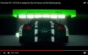 ポルシェ 911 GT3 R、ニュル24時間に準備完了[動画] 画像
