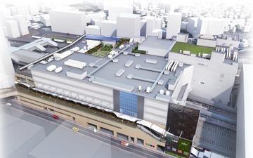 JR東日本、千葉新駅舎を11月オープン…線路上空の3階に移転 画像
