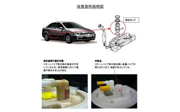【リコール】プジョーシトロエン 5車種…燃料漏れ 画像