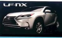 【デトロイトモーターショー14】レクサスの小型SUV、LF-NX …これが市販版の姿か 画像