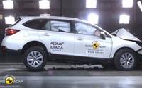 【ユーロNCAP】スバル レガシィ アウトバック 新型、欧州が認めた衝突安全性能[動画] 画像