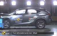 【ユーロNCAP】レクサス の新型SUV、NX に最高評価…衝撃をしっかり吸収[動画] 画像
