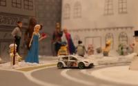 フォードのミニカー、雪上でジムカーナ…『スノーカーナ』第3作[動画] 画像