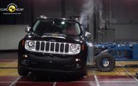 【ユーロNCAP】ジープ の小型SUV、レネゲード…5つ星の最高評価 画像