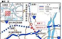 東海環状道と新名神高速、四日市エリアのIC・JCTの名称が決定 画像