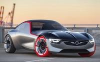 【ジュネーブモーターショー16】オペル、GTコンセプト 発表…1トン切る軽量FRスポーツ 画像