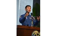 油井宇宙飛行士、大西宇宙飛行士の長期滞在をサポート…帰国後記者会見で表明 画像