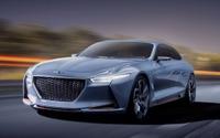 【ニューヨークモーターショー16】ヒュンダイの高級車、ジェネシスに「NYコンセプト」…HVスポーツセダン 画像