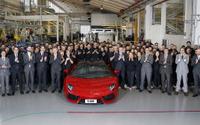 ランボルギーニ アヴェンタドール、累計生産5000台…4年7か月で達成 画像
