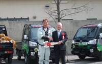 ダイハツ、旭山動物園にハイゼット トラック3台を寄贈 画像