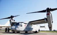 在日アメリカ軍、熊本県の被災地支援にMV-22オスプレイ投入 画像
