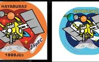 JAXA、「はやぶさ2」のミッションロゴを青系統に変更…スイングバイ成功を機に 画像