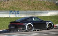 ポルシェ 911 次世代型、ワイドになってニュル激走! 画像