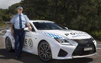 レクサス RC F、オーストラリア警察に配備完了 画像