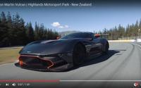 アストンマーティン ヴァルカン、ニュージーランドで全開走行[動画] 画像