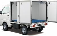 ダイハツ、ハイゼット トラック にカラーアルミ中温冷凍車を追加 画像
