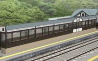 JR東日本、「日本三大車窓」姨捨駅をリニューアル…『四季島』利用者向け 画像