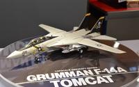 【静岡ホビーショー16】タミヤ、新作「1/48 F-14A トムキャット」を会場発表 画像