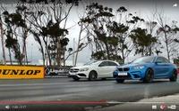 BMW M2 クーペ、メルセデス AMG A45 と加速競争[動画] 画像
