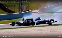 【F1 スペインGP】メルセデスが同士討ち…ロズベルグは怒りあらわ[動画] 画像