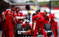 【F1】バルセロナでインシーズンテストが開始、初日はベッテルがトップ 画像