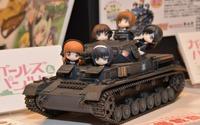 【静岡ホビーショー16】プラッツ、新作のガルパン戦車4機など展示 画像
