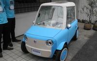 経産省出身のリモノ社長が超小型EVを試作、布製ボディで着せ替えが可能 画像