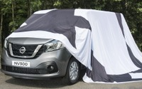 日産の欧州向け新型商用車、NV300 …表情見えた 画像