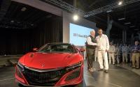 ホンダ NSX 新型、米工場で量産開始…第一号車を引き渡し 画像