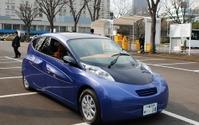 【EVEX12】SIMドライブ、先行開発車2台を展示  画像