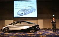 【SIM-Drive SIM-CEL 発表】全く新しい概念の車体構造を開発 画像