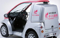 住友三井オートサービス、さくら薬局に超小型EV コムス を納入 画像