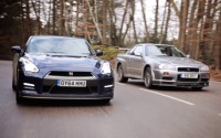 日産 GT-R、R34 スカイラインGT-R と徹底比較テスト[動画] 画像