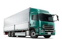 UDトラックス、大型トラック クオン 17車型の燃費を改善 画像