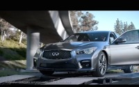 日産 スカイライン、やっぱり「ドライバーズカー」…米国CM[動画] 画像