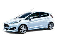 フォード フィエスタ 特別限定車、白ボディに専用内装 画像