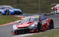 【SUPER GT 第2戦】GT500決勝、日産勢1-2…ニスモ組GT-Rがポール・トゥ・ウイン 画像