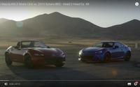 マツダ ロードスター 新型、スバル BRZ と比較テスト[動画] 画像