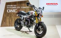 【東京モーターショー15】ホンダ グロム50 スクランブラー コンセプト ワン/ツー[詳細画像] 画像