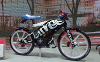 【東京モーターショー15】スズキ フィール フリー ゴー!…気軽に乗れる50cc原付クロスバイク[詳細画像] 画像
