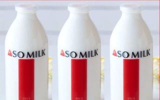 JALの熊本支援プロジェクト、第1弾は「阿蘇の牛乳」で 画像