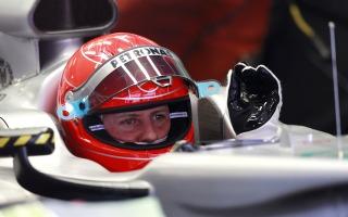 シューマッハ「メルセデスGPの速さはまだ不十分」 画像
