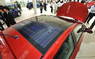 【FC EXPO10】プリウス の5%が採用、京セラのソーラーパネル 画像